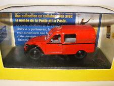 Rare CITROEN 2CV / 3CV Rouge Poste PAYS BAS Collection Atlas au 1/43