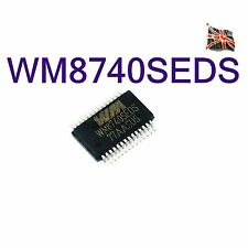 WM8740 DAC IC WOLFSON WM8740SEDS WM8740EDS SSOP28 UK STOCK