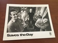 Saves the Day  Vintage Punk Rock Band 10 x 8 Press Photo with Chris Conley