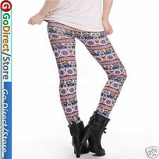 Patterned Seamless Fashion Leggings, Pants