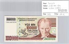 BILLET TURQUIE - 1 000 000 LIRA - L1970 (1995)
