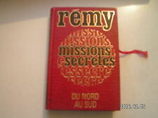 """** Rémy Missions secrètes """" Du Nord au Sud """" Tome 1"""