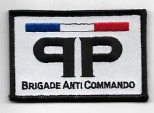 FRANCE BRIGADE ANTI COMMANDO  POLICE COLOR PATCH