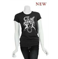 Sailor Jerry Tattoo Flash Gypsy Snake Punk Tee Shirt Pinup Soft Fitted Small