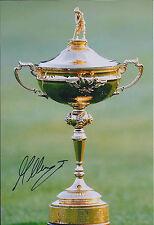 Martin KAYMER SIGNED Autograph 12x8 Ryder Cup Photo AFTAL COA 2012 GOLF Trophy