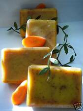 CARROT  TOMATO  CINNAMON HANDMADE SOAP  1 BAR   5 oz