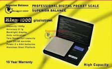 Superior Balance Zing-1000 Digital Pocket Scale, 1000 grams