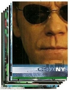 CSI: NY Cards BUY ONE CARD get NINE FREE! -Your Choice!  SERIES 1