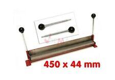 Plieuse à tôle manuelle 450 x 44 mm courbure 90° pour petites pièces D15821