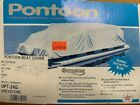 """Pontoon Boat Cover I/O 22""""-24"""" x 96"""" - New in the box Grey Cotton/Poly Fabric"""