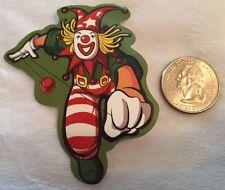 Clown Skater Vinyl Decal Yo-Yo Punk Sticker Bomb Jester Laptop