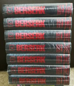 Berserk Deluxe Edition English Manga Vol 1-7 Hardcover **New Sealed**