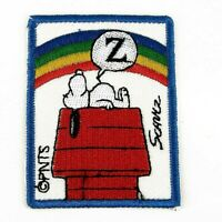 Snoopy Peanuts Sleeping  Iron sew on Patch clothes dressmaking applique