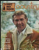 Country Music Magazine WNYR August 1969 Buck Owens Mel Tillis Jimmy Payne