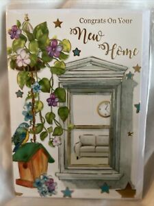 new home card / Congratulations New Home Card / New House Cards - 5 Styles