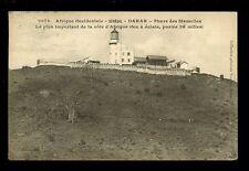 Africa France Cols France Afrique Occidentale Senegal DAKAR Lighthouse 1913 PPC