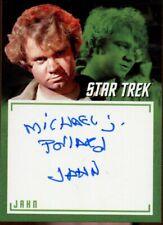 Star Trek TOS Archives & Inscriptions Variant Autograph A17 Michael J. Pollard