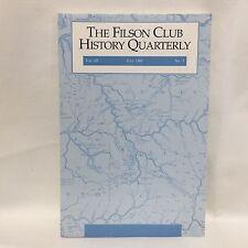 The Filson Club History Quarterly Vol 69 July 1995 No 32 Issue Illust Free Ship