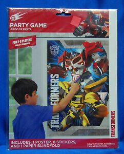 Bumble Bee Optimus Prime Transformer Party Game Banner Napkin Cup Centerpiece