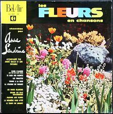 ANNE SANDRINE LES FLEURS EN CHANSONS FRANCIS BLANCHE 25CM BIEM BEL AIR 311.007