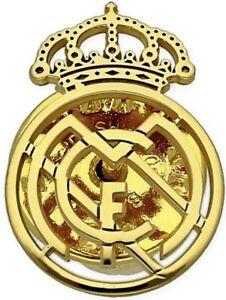 Pin Real Madrid de Oro De Ley 18k Unisex Emblema De Equipo De Fútbol