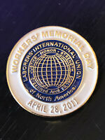 Vintage Collectible Laborers Intl Union 2011 Colorful Metal Pin Back Lapel Pin