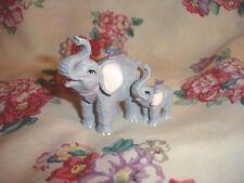 Luckyphants. Elephants Mom & Baby Daughter - #1010 Unique!