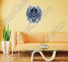 """Policeman Skull Police Revolver Gift Wall Sticker Room Interior Decor 20""""X25"""""""