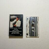 Cassette Tape Michael Jackson Thriller