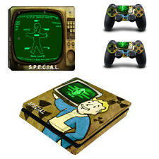 Fallout Decal Vinyl Sticker Protect for PS4 Slim Console & Controller Skin #4
