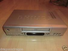 Philips VR 805 VHS-Videorecorder, defekt / kein Bild & Ton, Tape läuft