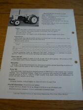 Paper David Brown Agricultural Vehicle Manuals & Literature