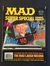 Mad Magazine Super Special Summer 1982   (Missing Mad Laugh Record)