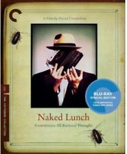 Naked Lunch Criterion Collection Region 1 Blu-ray