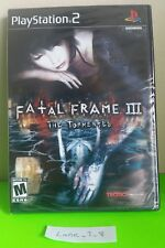 Fatal Frame III 3 The Tormented (PlayStation 2, 2005) Brand NEW Sealed PS2