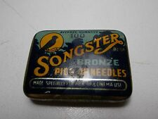 SONGSTER GRAMOPHONE NEEDLES TIN BRONZE PICK UP CINEMA USE PARTIAL CONTENTS