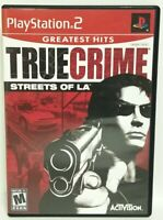True Crime: Streets Of L.A.- Sony Playstation 2 Game -(PS2)