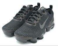 Nike Air Vapormax Flyknit 3 Triple Black GS Big Kids Size 4Y BQ5238-001 B GRADE