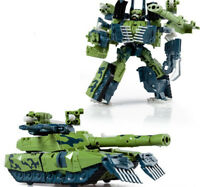 MACHINE BOY Gift Transformers Autobots BRAWL Blue Green Missile Action Figures