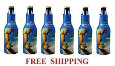 Corona Extra Macaw Parrot 6 Beer Bottle Koozie Coolie Coozie Coolers Huggie New