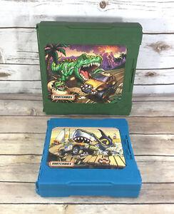 Mattel Matchbox Pop-Up Playset Shark Attack 2007 & Dinosaur Escape 2006 Travel
