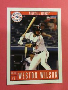 2021 Choice, Nashville Sounds - WESTON WILSON