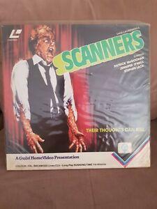 David Cronenberg's SCANNERS laserdisc