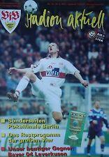 Programm 1996/97 VfB Stuttgart - Bayer Leverkusen