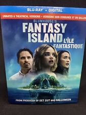 Fantasy Island Blu-Ray w Slipcover Canada Bilingual NO DC LOOK