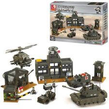 SLUBAN MILITARY HEADQUARTERS BUILDING BRICKS 1086 PIECES ARMY NAVY RAF 7100
