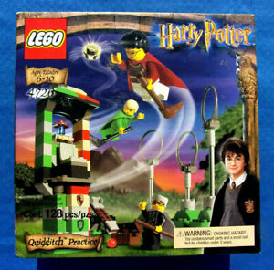 LEGO~Harry Potter~Quidditch Practice~#4726~Brand New~Factory Sealed~2002~RETIRED