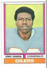 1974 TOPPS BENNY JOHNSON (EXMT+ OR BETTER)