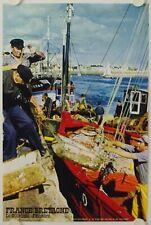 Affiche France BRETAGNE Finistère LE GUILVINEC Ann. '60 - Tourisme