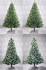 Christbaum Weihnachtsbaum Künstlicher Tannenbaum Grün Schnee Tanne künstlich